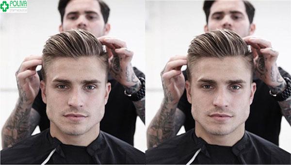 Mẫu tóc cho nam mặt vuông