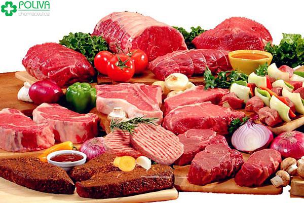 Các loại thịt giàu Protein không được thiếu trong mỗi bữa ăn của những anh chàng xuất tinh sớm