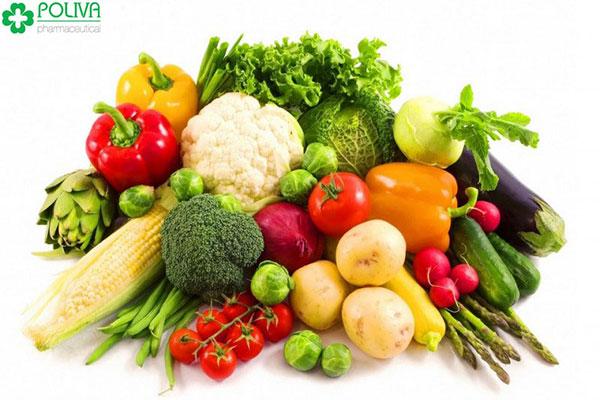 Xuất tinh sớm nên ăn tăng cường thực phẩm giàu axit amin, vitamin, khoáng chất từ rau củ