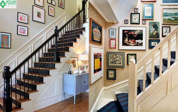 Những bức tranh nhỏ nhắn tạo không gian ấn tượng cho ngôi nhà