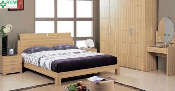 Không được kê giường ngủ thẳng gương soi hãy để gương xa xa ở vị trí không gần giường