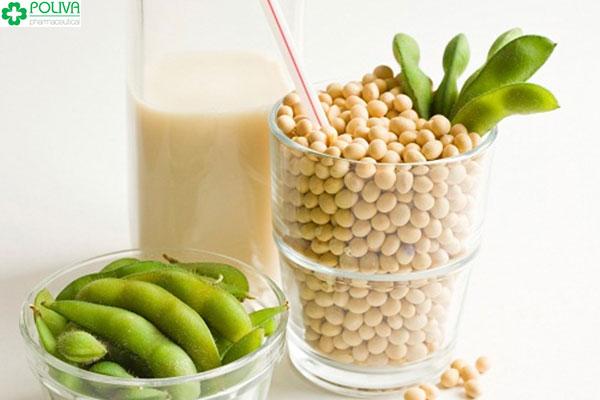Đậu nành được biết đến là loại thực phẩm giúp bổ sung estrogen tự nhiên hiệu quả