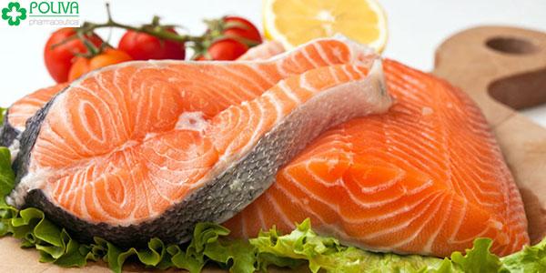 Thay đổi chế độ ăn hàng ngày bằng cá hồi