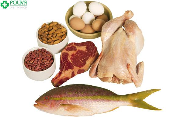 Thịt, trứng, sữa giúp chị em cân bằng nội tiết tố nữ đơn giản