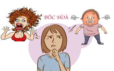Bốc hoả ở nam giới và nữ giới – Bị bốc hoả uống thuốc gì?