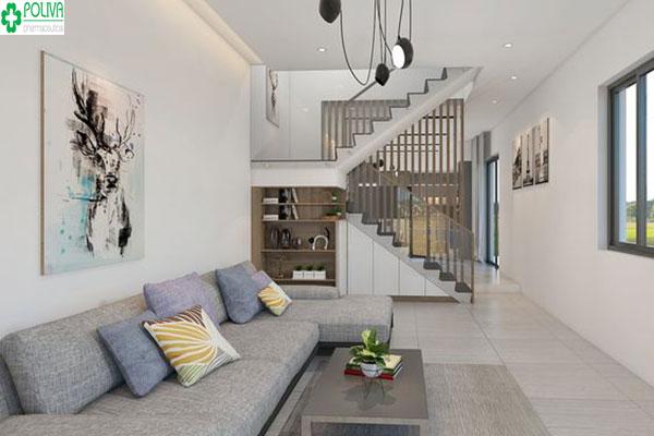 Chọn những đồ nội thất nhỏ gọn giúp tiết kiệm không gian cho phòng khách nhà bạn