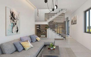 Cách trang trí phòng khách nhà ống đẹp, đơn giản mà tinh tế