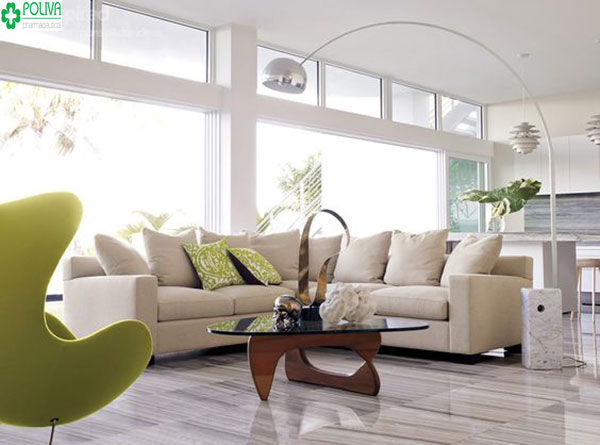 Nội thất đẹp tạo nét sang trọng cho căn phòng