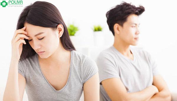 Cuộc sống vợ chồng ít nhiều đều chịu ảnh hưởng bởi tình trạng khô hạn ở phụ nữ trẻ