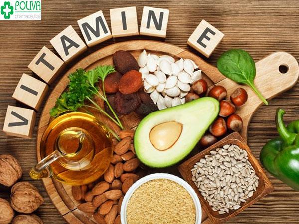 Vitamin E - dưỡng chất giúp cải thiện nhanh chóng tình trạng khô hạn