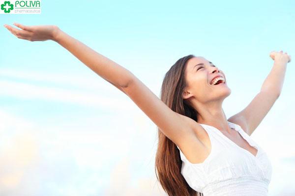 Một tinh thần lạc quan, tươi mới giúp bạn đẩy lùi lãnh cảm