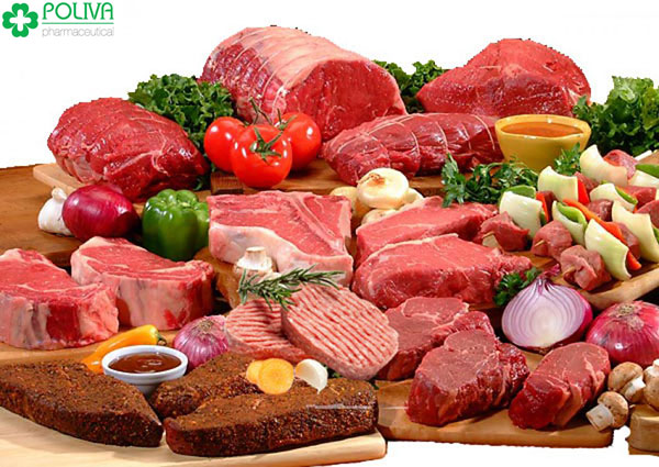Các loại thịt đỏ giúp ngày dâu tìm đến sớm hơn