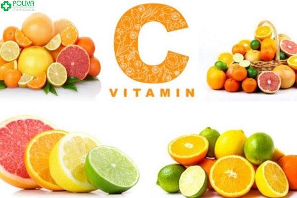 Bổ sung thực phẩm giàu vitamin C cho cơ thể