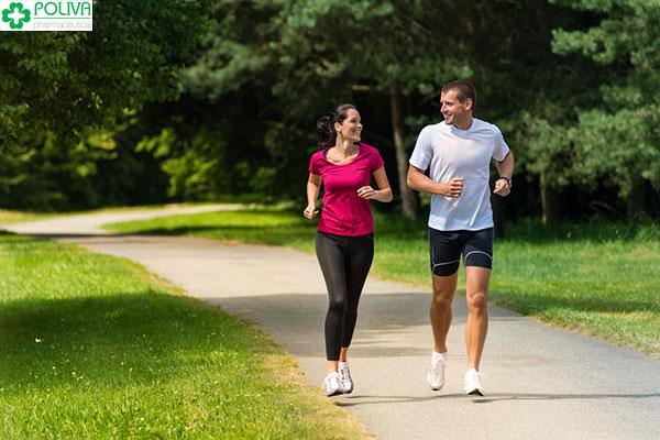 Tập luyện thể dục thể thao tốt cho quá trình cải thiện rối loạn nội tiết tố