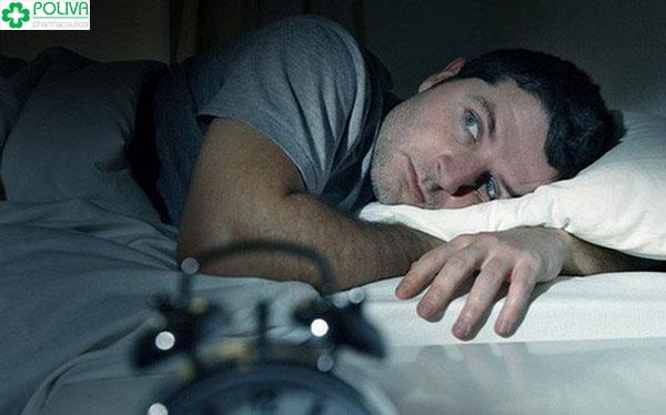 Khó ngủ, trầm cảm ở phái mạnh có thể gặp phải khi bị rối loạn nội tiết tố