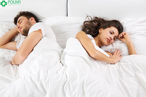 Chuyện vợ chồng cũng bị ảnh hưởng rất nhiều từ tình trạng này