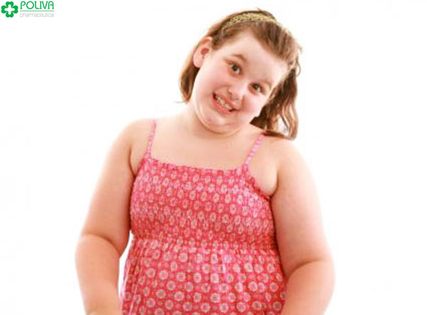Tăng cân nhanh là biểu hiện rõ ràng để nhận thấy dấu hiệu rối loạn nội tiết tố ở bé gái