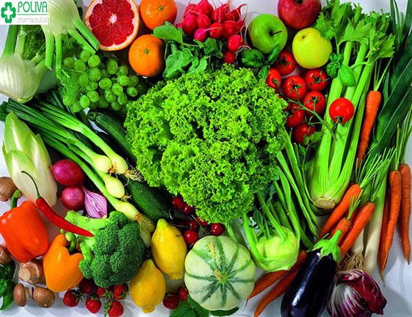 Rau xanh - nguồn thực phẩm không thể thiếu cho cơ thể mẹ
