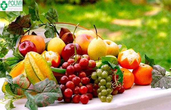 Hoa quả rất tốt cho sức khỏe của mẹ, giúp thai vào tử cung nhanh