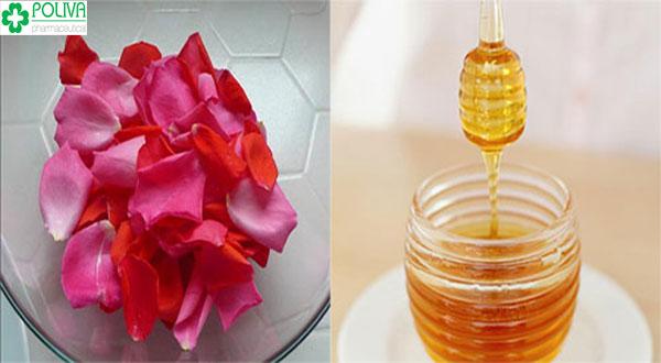 Mặt nạ hoa hồng mật ong