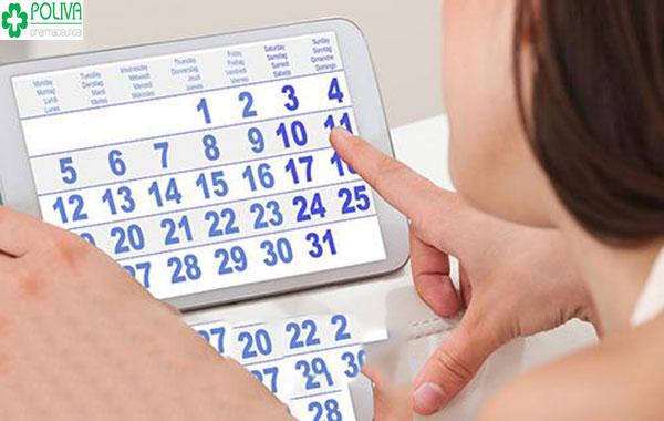 Tùy vào từng chặng cột mốc có thể giúp chị em biết mình có thai bao nhiêu tuần