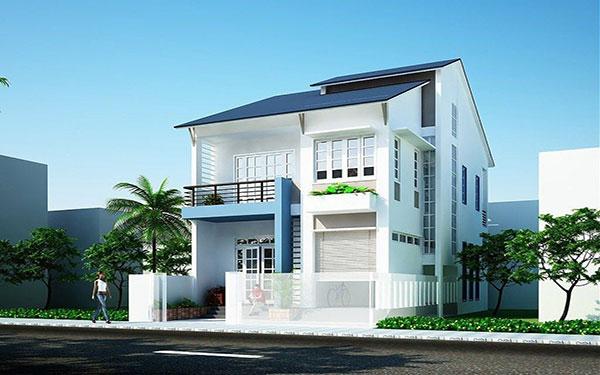 Chọn màu sơn tường nhà bên ngoài đẹp, tăng tài lộc cho gia chủ