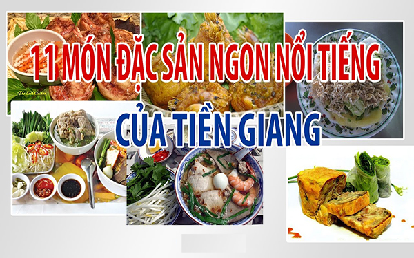 đặc sản Tiền Giang