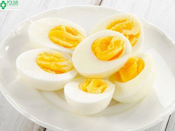 Trứng là thực phẩm rất giàu dinh dưỡng cho cơ thể mẹ