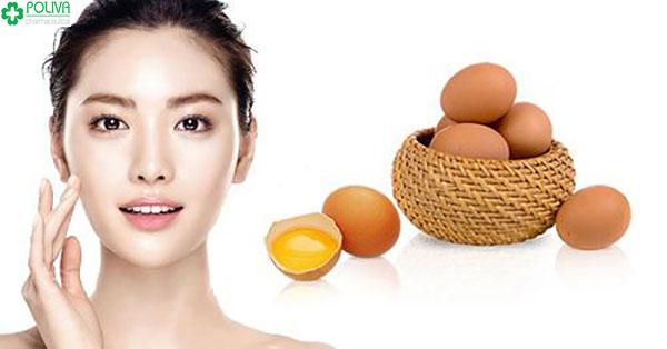 Mặt nạ trứng gà giàu protein