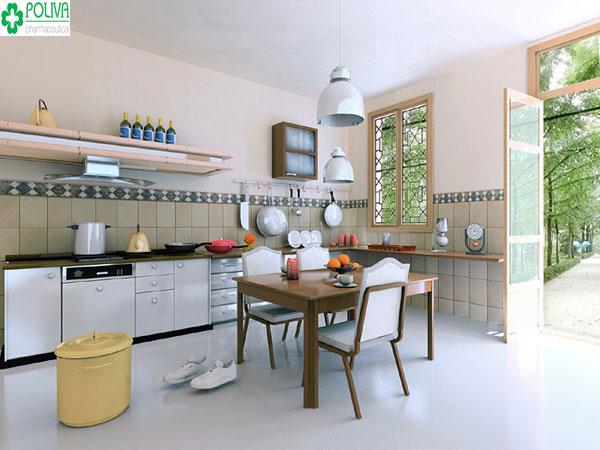 Nên đặt hướng bếp ở hướng dữ để xóa tan khí độc vào nhà