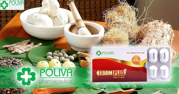 Poliva Edam Plus - giải pháp hỗ trợ điều trị xuất tinh sớm