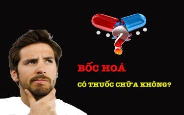 Bốc hoả ở nam giới nên uống thuốc gì? Loại thuốc nào tốt nhất?