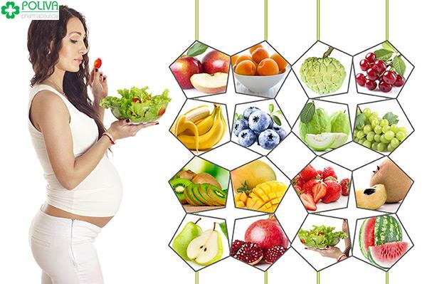 Ngay khi vừa mới phát hiện mình có bầu, mẹ nên chú ý tới chế độ ăn uống của mình