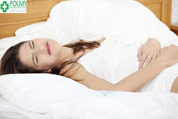 Đau bụng kinh ở vị trí nào là bình thường?