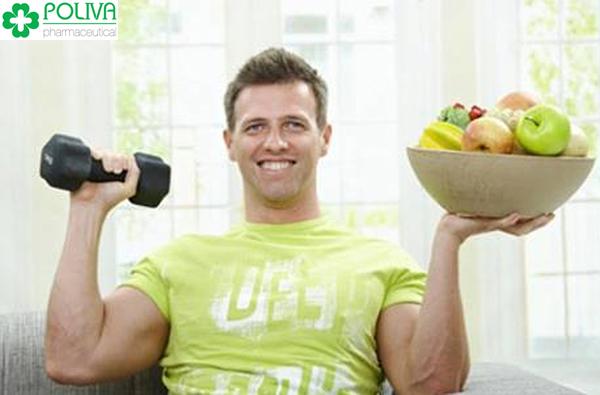 Cải thiện chế độ ăn uống, tăng cường tập thể dục thường xuyên