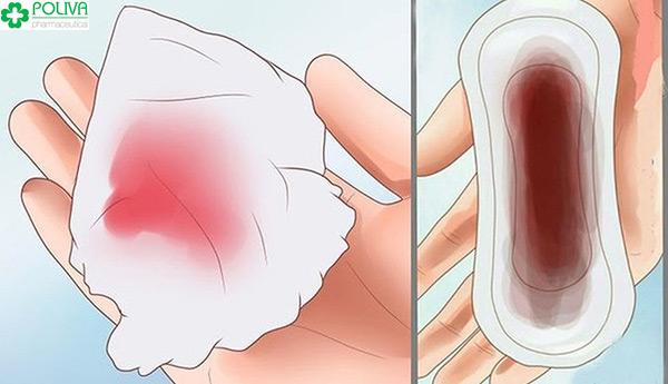 Chú ý lượng máu khi bị rong kinh do uống thuốc tránh thai khẩn cấp