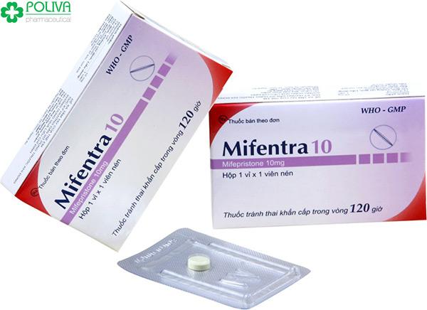 Mifentra 10 là thuốc ngừa thai khẩn cấp được nhiều người sử dụng