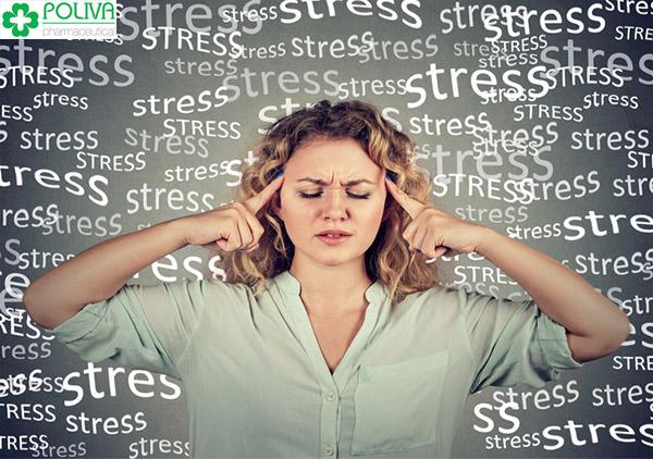 Căng thẳng, stress liên tục cũng có thể gây mất kinh, rối loạn kinh nguyệt