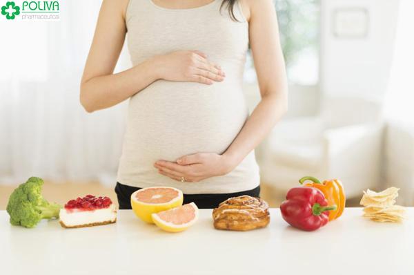 Mẹ cần chú ý dinh dưỡng trong quá trình mang bầu