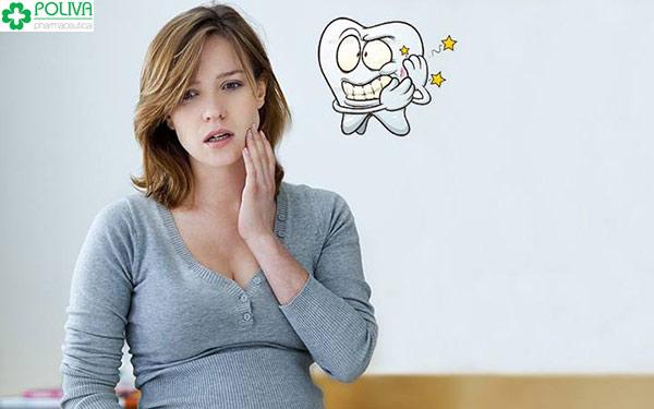 Đau răng khi mang thai mang lại sự khó chịu cho mẹ bầu
