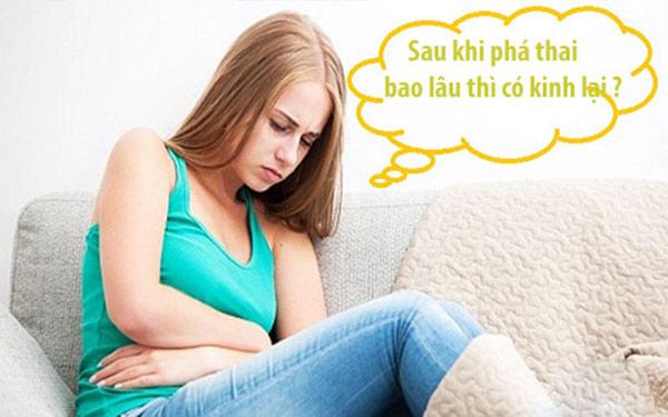 XEM NGAY: Phá thai sau bao lâu thì có kinh trở lại?