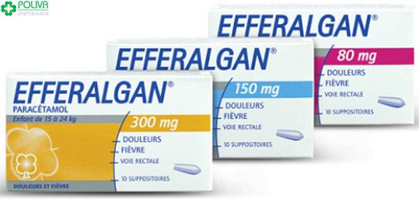 Khi trẻ sốt nên dùng thuốc có chứa Paracetamol
