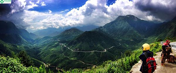 Đỉnh Phanxipang nhìn từ xa
