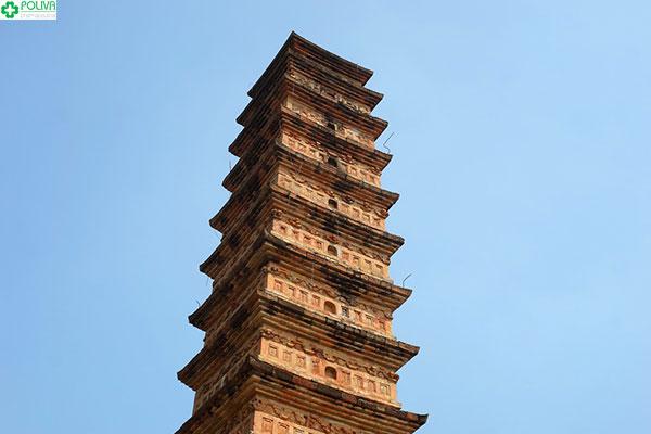 Cho đến ngày nay hầu như tháp vẫn còn nguyên vẹn