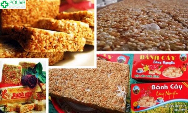Bánh cáy làng Nguyễn là đặc sản lâu đời