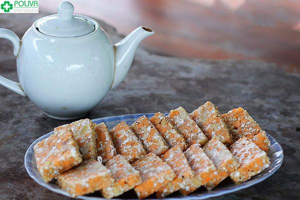Thời xưa, bánh cáy thường được sử dụng để tiến vua