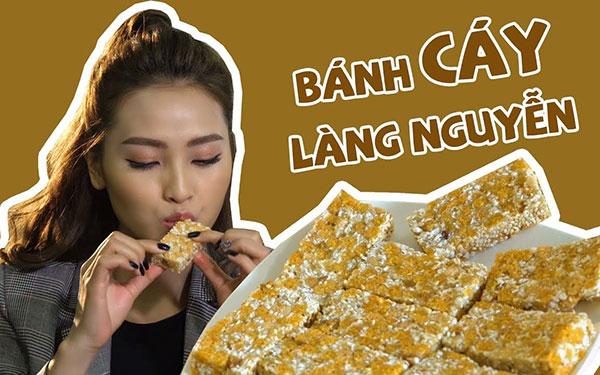Bánh cáy làng Nguyễn: Đặc sản nổi tiếng số 1 Thái Bình