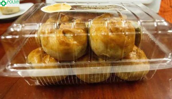 Bánh được đóng thành hộp tiện lợi để mua làm quà