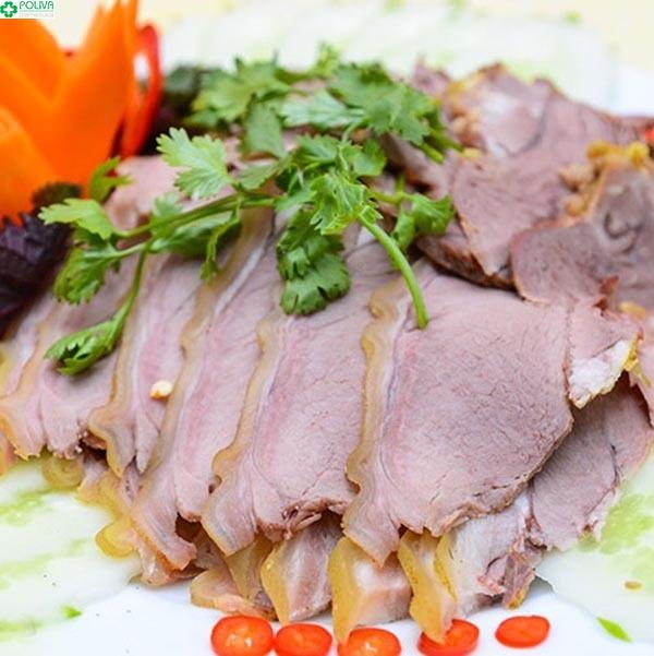 Thịt dê hấp - đặc sản cao nguyên Sìn Hồ