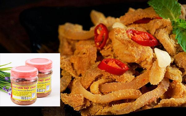 Đặc sản thịt chua Thanh Sơn Phú Thọ làm mê đắm người ăn